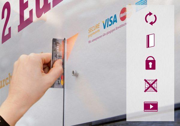 """גיוס חדשני: פוסטר חברתי ש""""מגהץ"""" כרטיסי אשראי"""